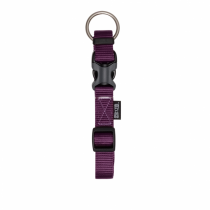 Zeus Adjustable Nylon Dog Collar - 99502 Royal Purple - Available in S, M & L