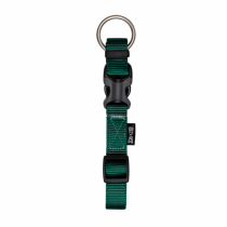 Zeus Adjustable Nylon Dog Collar - 99503 Forest Green - Available in S, M & L