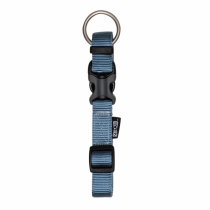 Zeus Adjustable Nylon Dog Collar - 99505 Denim Blue - Available in S, M & L