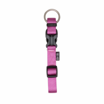 Zeus Adjustable Nylon Dog Collar - 99507 Fuchsia - Available in S, M & L
