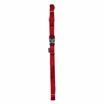 Zeus Nylon Leash - 99581 Deep Red - Available in S, M & L