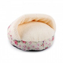 All For Paws - Shabby Chic Hideaway Bed Cream