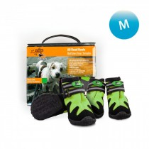 All For Paws - Outdoor Dog Shoes (#3) M - Available in Green & Orange