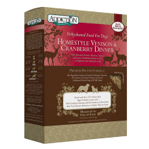 Addiction Dehydrated Homestyle Venison & Cranberry Dinner - 2lbs