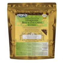 Addiction Dehydrated Classics Steakhouse Beef & Zucchini Entree - 8lbs