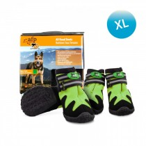 All For Paws - Outdoor Dog Shoes (#5) XL - Green (Out of Stock)