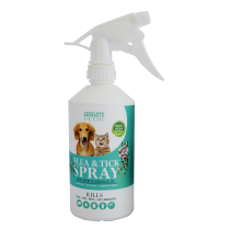 Absolute Plus Flea & Tick Control Spray With Organic Neem Oil 500ml