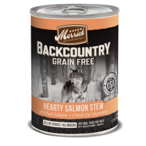 Merrick Dog Canned Back Country Grain Free - Hearty Salmon Stew 374g