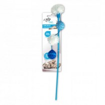 All For Paws Modern Cat Fluffy Wand - Blue