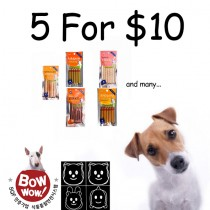 Bow Wow Dog Treats 'Bundle Mix - 5 for $10