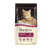 Burgess Mature Cat Turkey & Cranberry 1.5kg