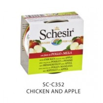 Schesir Cat Canned Fruits Chicken & Apple 75g