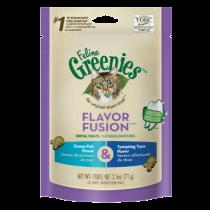 GREENIES™ Cat FLAVOR FUSION™ Dental Treats Ocean Fish & Tempting Tuna Flavor 2.5oz
