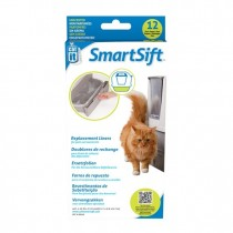 Catit Smartsift Replacement Liners - 12 pack For Pull-Out Waste Bin