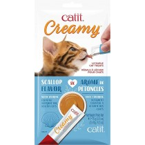Catit Creamy Seafood [Hairball] - (5x15g)
