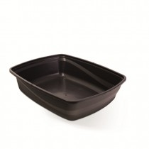 Cat Love Cat Pan Open Medium - Charcoal