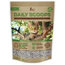 Cat Love Daily Scoops - Recycled Paper Litter - 25 lbs