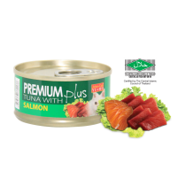 Aristo-Cat ® Premium + Cat Canned Food Tuna with Salmon 80g