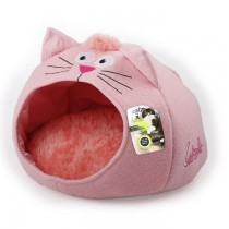 All For Paws - Catzilla Meow Cat House Pink