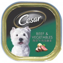 Cesar Beef & Vegetable 100g