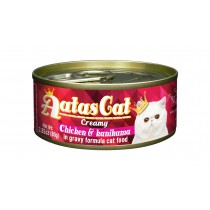 Aatas Cat Canned Creamy Chicken & Kanikama 80g