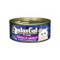 Aatas Cat Canned Creamy Chicken & Mackerel 80g