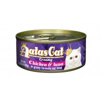 Aatas Cat Canned Creamy Chicken & Tuna 80g