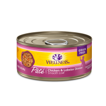 Wellness Cat Canned Complete Health™ Pâté Chicken & Lobster  5.5oz