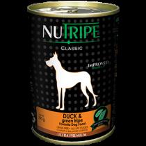 Nutripe Dog Canned Classic Duck & Green Tripe Formula 390g