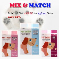 """COCOYO PEE PAD PET SHEETS Buy 2 and Get 1 FREE"