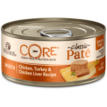 Wellness Cat Canned CORE® Pâté Chicken, Turkey & Chicken Liver 5.5oz