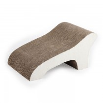 All For Paws - Catzilla Chaise Lounge Cardboard Scratcher