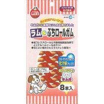 Marukan Lamb Petit Roll Gum 8pcs/pack [DF83]