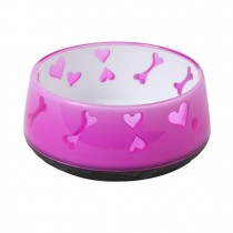 Dogit Home Non-Skid Bowl - Pink - 300 ml (10.1 fl oz.)