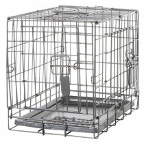 Dogit Two Door Wire Home Crates with divider - Available in XS, S, M, L, XL & XXL