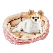 Marukan Oval Bed for Chihuahua and Small Dog