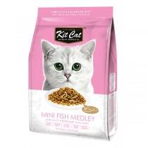 Kit Cat Dry Mini Fish Medley 1.2kg