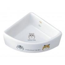 Marukan Hamster Corner Dish [ES16]