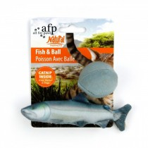 All For Paws - Natural Instinct Fish Ball - 4 Assorted