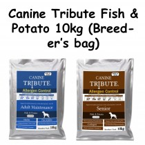 Canine Tribute Allergen Control Fish & Potato 10kg (Breeders' Pack)