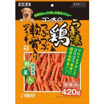Sunrise Soft Chicken With Cartilago Jerky and Veggie For Dogs 420g