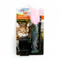 All For Paws - Natural Instinct Fish On A Hook - 4 Assorted