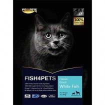 Salmon 4 Pets Freeze Dried Cat Whitefish 57g