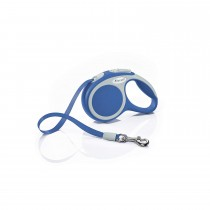 Flexi Vario Retractable Tape Leash Blue - 4 Sizes