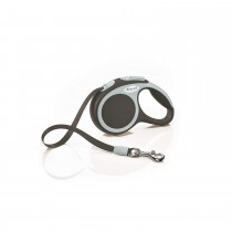 Flexi Vario Retractable Tape Leash Brown - 4 Sizes
