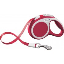Flexi Vario Retractable Tape Leash Red - 4 Sizes