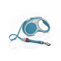 Flexi Vario Retractable Tape Leash Turquoise - 4 Sizes