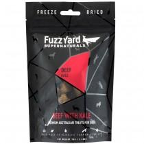 FuzzYard Supernaturals Beef With Kale Freeze Dried Dog Treats 70g