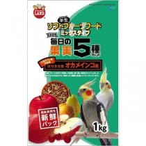 Marukan 5 Fruit Mixed Food for Cockatiel [MB202]