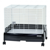 Sanko Wild Easy Home Rabbit Cage 60 - Available In Gloss Black,Cream,Pink & White